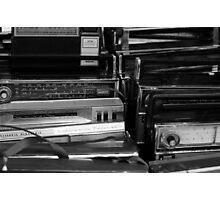 Vintage Radios Photographic Print