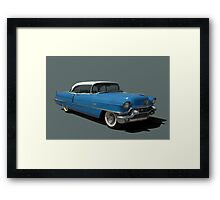 1956 Cadillac Coupe deVille Framed Print