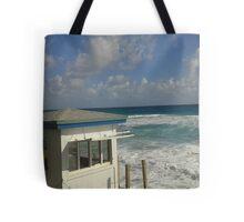 Beach veiw Tote Bag