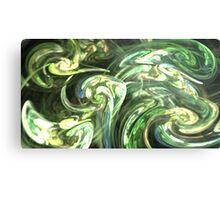 Forest Swirls Metal Print