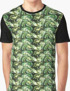 Forest Swirls Graphic T-Shirt