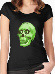 CREEP II (green) Women's Fitted Scoop T-Shirt