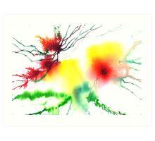 Blooms 3 Art Print