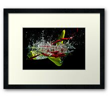 Spicy Water Framed Print