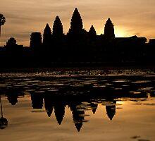 Angkor Sunrise by Maximilian Ammann
