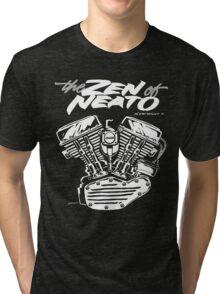 ZON pan cursive Tri-blend T-Shirt