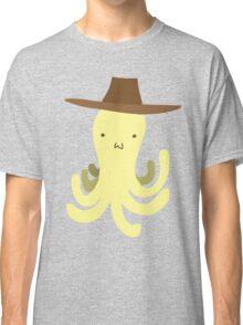 Yellow Octopus - Cowboy Hat Classic T-Shirt