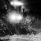 Corn chopping at night ? by pdsfotoart