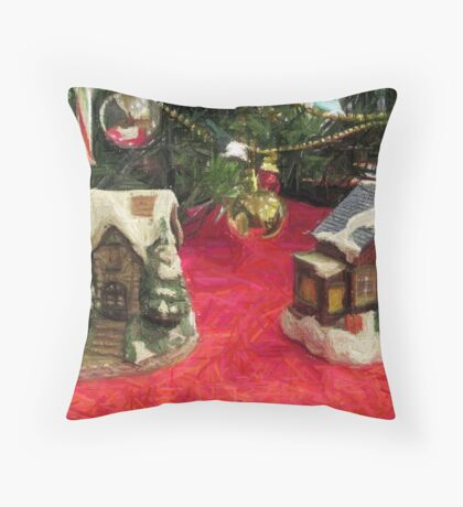 No Place Like Home for the Holidays Throw Pillow