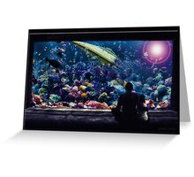 The Aquarium Greeting Card