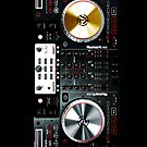 Digital mixer DJ turntable electronic music - Apple iPhone 5, iphone 4 4s, iPhone 3Gs, iPod Touch 4g case by www. pointsalestore.com