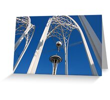 Arches & Needle Greeting Card