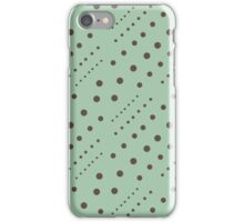 Dots Background iPhone Case/Skin