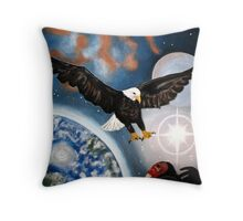 Out Of The Muck And Mire Throw Pillow