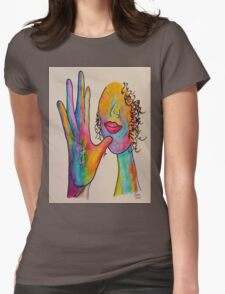 MOTHER - American Sign Language ASL Womens Fitted T-Shirt