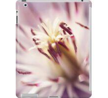Macro Clematis iPad Case/Skin