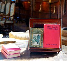 Books in the library at Hearst Castle. by philw