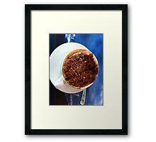 Coffee at Sea Framed Print