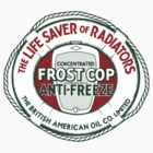 Frost Cop Anti-Freeze Vintage T-shirt by JohnOdz