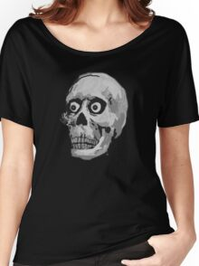 CREEP II (black and white) Women's Relaxed Fit T-Shirt