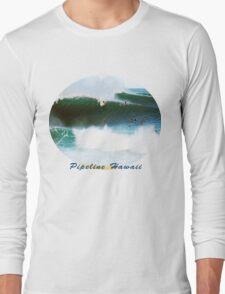Banzai Pipeline Hawaii Long Sleeve T-Shirt