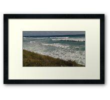 Grassy Ocean Framed Print
