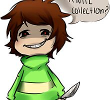 Undertale- Chara's Knife collection by GhostieGhost
