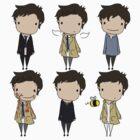 The Many Faces of Castiel by Jo Alfie Wimborne
