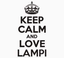 Keep Calm and Love LAMPI by esteron