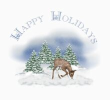 Happy Holidays Rudolph Kids Clothes