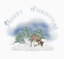 Merry Christmas Rudolph by Michelle Munday