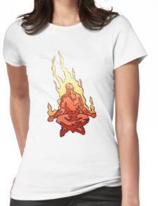 Acid Meditation Womens Fitted T-Shirt