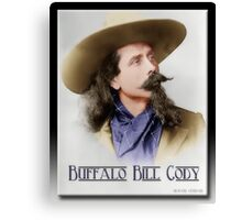 Buffalo Bill Cody in Oil Canvas Print