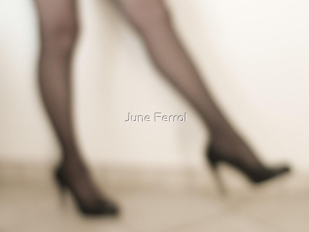 JUST LEGS  II by June Ferrol