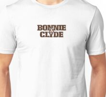Bonnie and Clyde Title Unisex T-Shirt