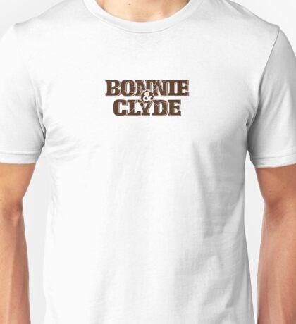 Bonnie and Clyde Title Unisex T-Shirt