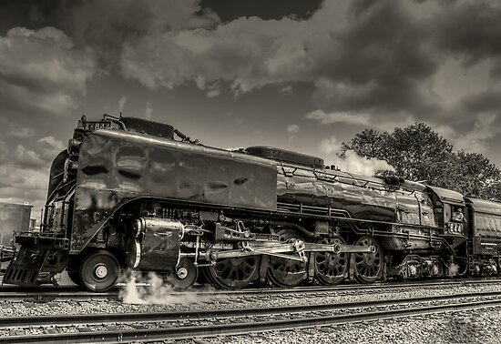 Old 844 by Steve Walser