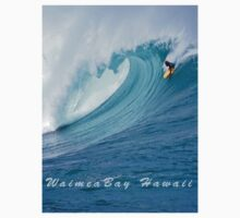 Waimea Bodyboarder T-Shirt by kevin smith  skystudiohawaii