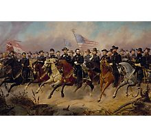 Grant and His Generals  Photographic Print