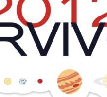 2012 SURVIVOR - Sticker Sticker