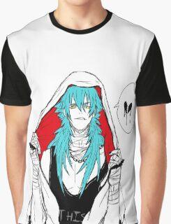 DRAMAtical Murder - Punk Aoba (Sly Blue) Graphic T-Shirt