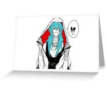 DRAMAtical Murder - Punk Aoba (Sly Blue) Greeting Card