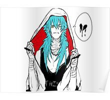 DRAMAtical Murder - Punk Aoba (Sly Blue) Poster