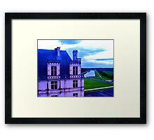 Chambord with Canal Framed Print