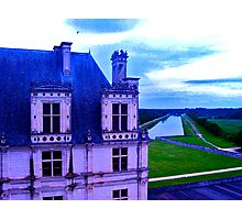 Chambord with Canal Photographic Print