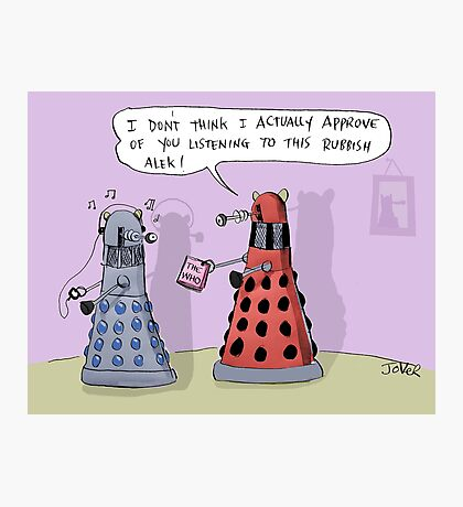 dalek who Photographic Print