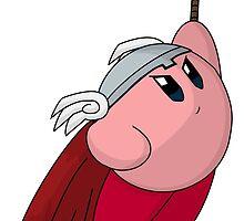 Thunder God Kirby by GamerPiggy