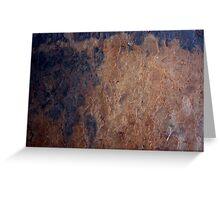 Rock Abstract # 2 Greeting Card