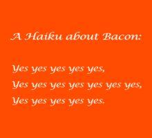 Bacon Haiku Kids Clothes