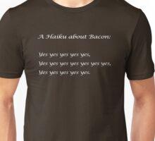Bacon Haiku Unisex T-Shirt